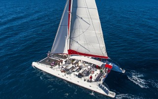 'Ios' Fountaine Pajot Tahiti 80 Day Tour