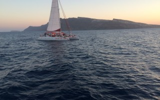 'Ios' Fountaine Pajot Tahiti 80 Sunset Tour